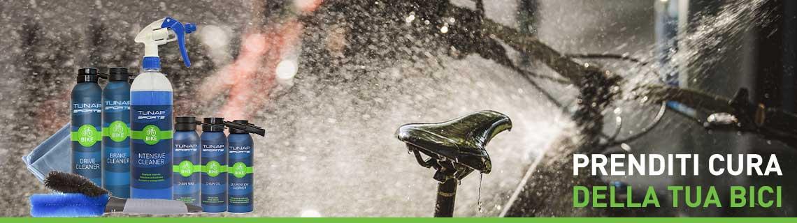Prodotti per la manutenzione e la pulizia della bici